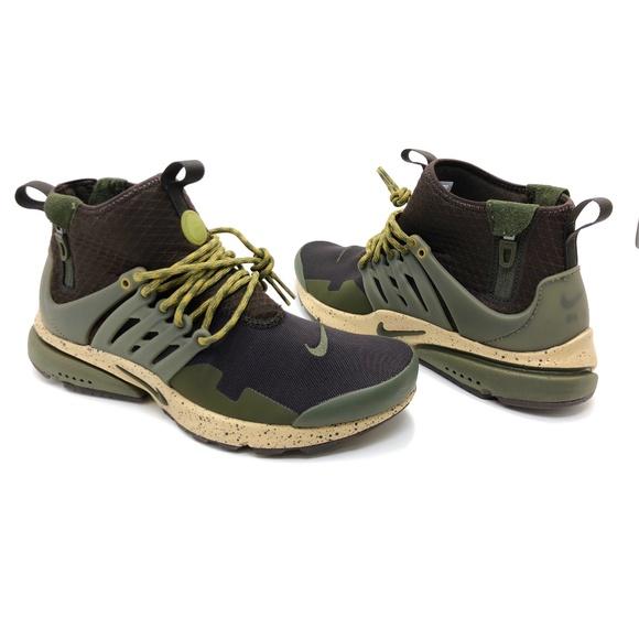 Nike Air Presto Mid Utility Men s Running Shoes. M 5baccf4f1b3294c7373a9af8 2c05a54a4